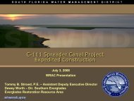 C-111 SC 7-3-08 WRAC_final-TBS Mod.pdf - South Florida Water ...