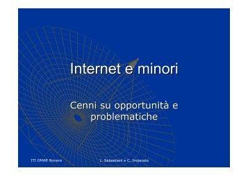 Internet e minori - ITI Omar
