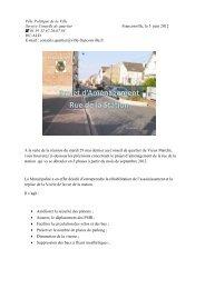 Dossier travaux Rue de la Station - Franconville