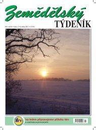 Zemědělský týdeník č. 1/2011