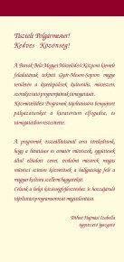 A Közművelődési Programok Tájoltatásának Programfüzete 2005 ... - Page 2