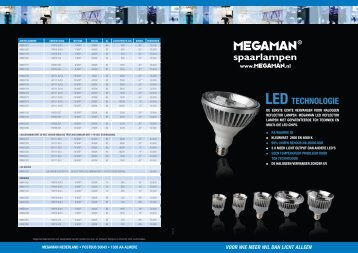 LED TECHNOLOGIE LED TECHNOLOGIE - Megaman