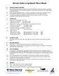 2005 Sailing Instructions - Long Beach Race Week - Page 2