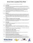 2005 Sailing Instructions - Long Beach Race Week - Page 3