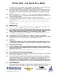2005 Sailing Instructions - Long Beach Race Week - Page 4