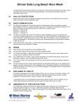 2005 Sailing Instructions - Long Beach Race Week - Page 5