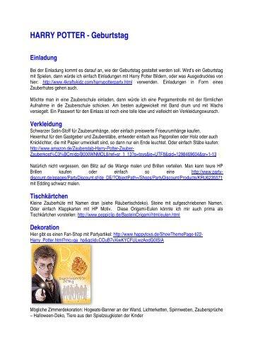 harry potter band 6 englisch-deutsch.pdf - harry potter vokabeln, Einladung