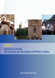 de la Police de Bruxelles CAPITALE Ixelles - Lokale Politie