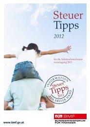 Steuer Tipps 2012 - Bundesministerium für Finanzen