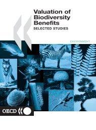 Valuation of Biodiversity Benefits (OECD)