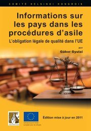 COI in Asylum-2011-FR-WEB.indd - International Association of ...