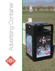 Advertising Container