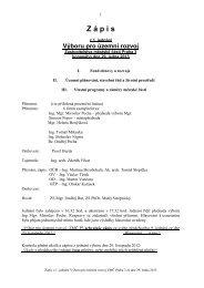 Zápis z 1. jednání Výboru pro územní rozvoj Zastupitelstva ... - Praha 3