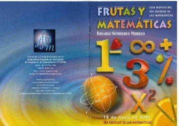 2004: Frutas y Matemáticas - FESPM