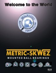 SealMaster METRIC-SKWEZ Mounted Ball Bearings ... - ZetMaster.Ru