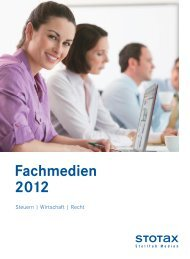 Fachmedien 2012 - Stollfuß Medien