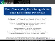 Fast Converging Path Integrals for Time-Dependent Potentials*