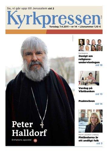 Kyrkpressen 14/2011 (PDF: 4.3MB)