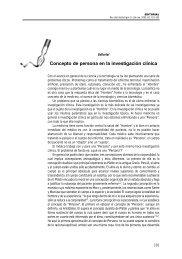 Concepto de persona en la investigación clínica - Sociedad Chilena ...