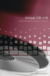 Virtual CD Network Management Server 10 - H+H Software GmbH