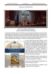Distr 204 - Prima Assemblea Distrettuale Milano ... - Inner Wheel Italia