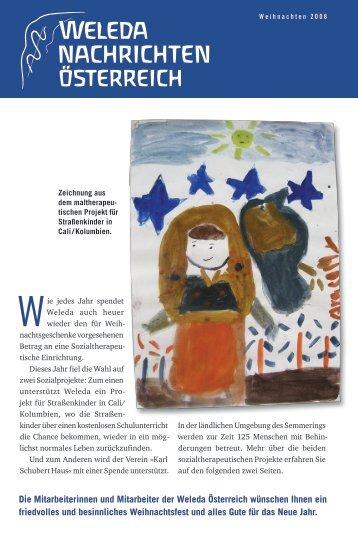 Ausgabe Weihnachten 2008 - Weleda