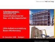 Vortrag Zahm: GDA Arbeitsprogramm Bau (PDF-Datei, 778