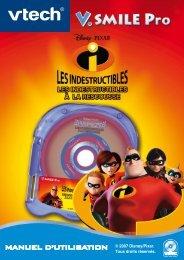 Manuel d'utilisation © 2007 Disney/Pixar. - Console V.Smile