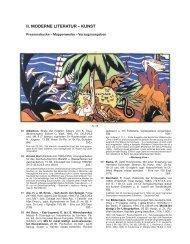 II. MODERNE LItERAtUR - Reiss & Sohn oHG