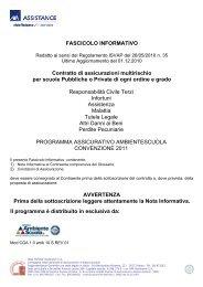 Polizza assicurativa - J. Vittorelli