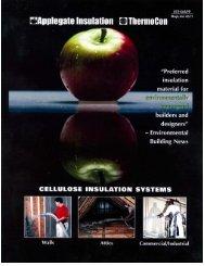 Cellulose Insulation Systems. - Virtually Sullivan