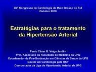 estratégias para o tratamento da hipertensão arterial - OPEC