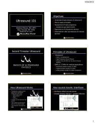 Ultrasound 101
