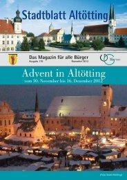 Stadtblatt Altötting - Stadt Altötting