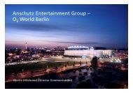 Anschutz Entertainment Group - Berlin Business Location Center