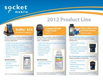 2012 Product Line