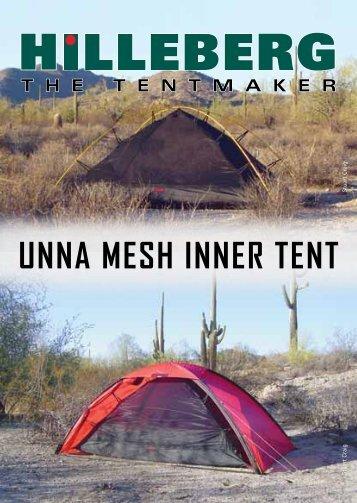 UNNA MESH INNER TENT - Hilleberg