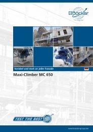 Maxi-Climber MC 650 - Albert Böcker GmbH & Co. KG