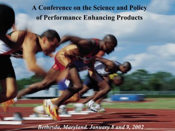 Sport Organizations - Office of Dietary Supplements