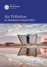 Air Pollution - Northern Ireland Air