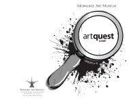 ArtQuest: Grades 6-8 - Milwaukee Art Museum: Teacher Resources