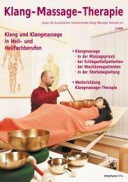 Klangmassage - Europäische Fachverband Klang-Massage ...