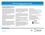 Dallas County Deferred Compensation Plan - For Financial Advisors
