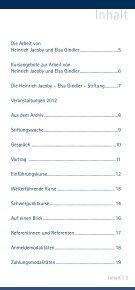 Veranstaltungsplan 2012 - Heinrich Jacoby - Elsa Gindler - Stiftung - Seite 3