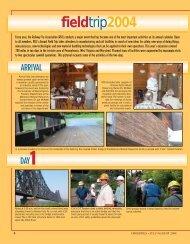 Field Trip - Railway Tie Association