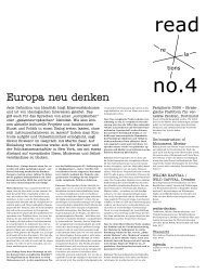 Europa neu denken - Projekt Relations