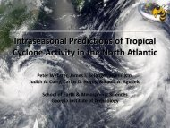 Extended tropical cyclone prediction on weekly to monthly time scales