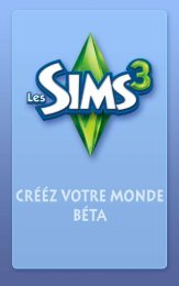 Page - Les Sims 3