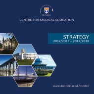 strAtEGy - School of Medicine - University of Dundee