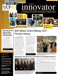 Spring 2013 - The Innovator - University of Central Florida
